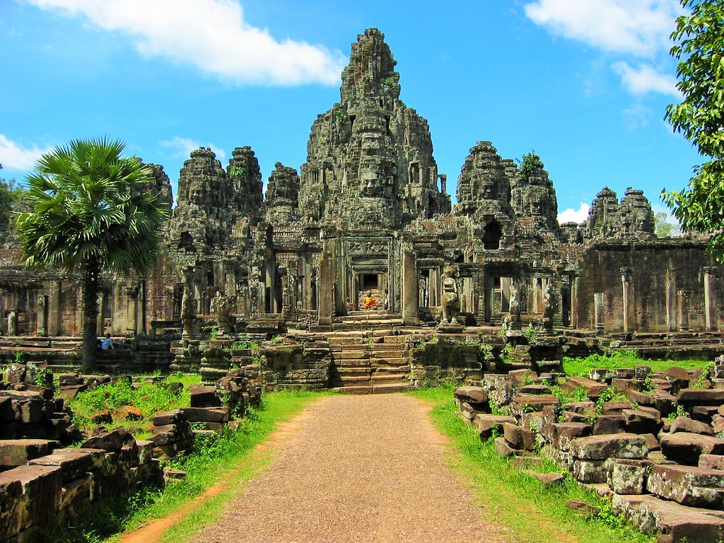 Đền Angkor Thom Campuchia